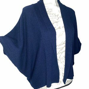 Vince Camuto Navy Shrug Sweater size Small Petite